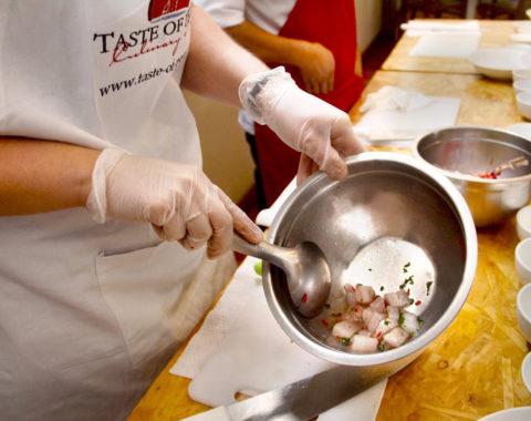 Ceviche Festival Class